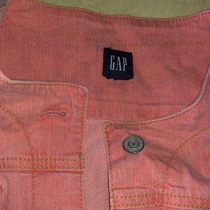 Gap Pink Denim Jacket